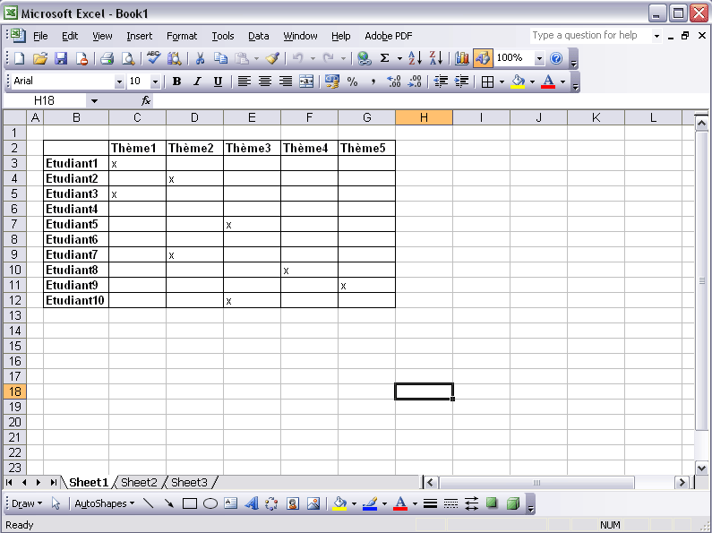 Gut gemocht Lovely Faire Un Tableau Photo #6: Ju0027utilise Un Tableau Excel  ND98